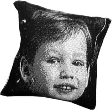 Original Photo Throw Pillow