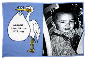 Stork Throw Boy